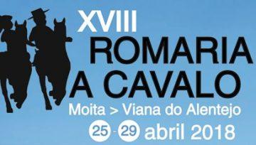 XVIII Romaria a Cavalo Moita - Viana do Alentejo de 25 a 29 de abril